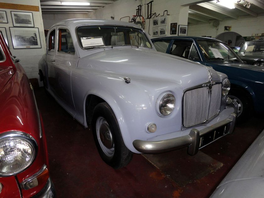 1952 Rover P4 (6369017051)