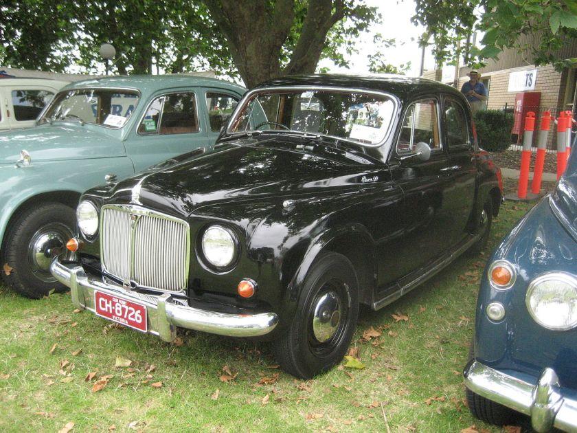 1953-59 Rover P4 90 Saloon+ got a 2639cc 6 cyl. P4 75 4 cyl 1949-59. P4 60 4 cyl 1953-59. P4 80 4 cyl 1960-62. P4 100 6 cyl 1960-62. P4 95-110 6 cyl 1962-64jpg
