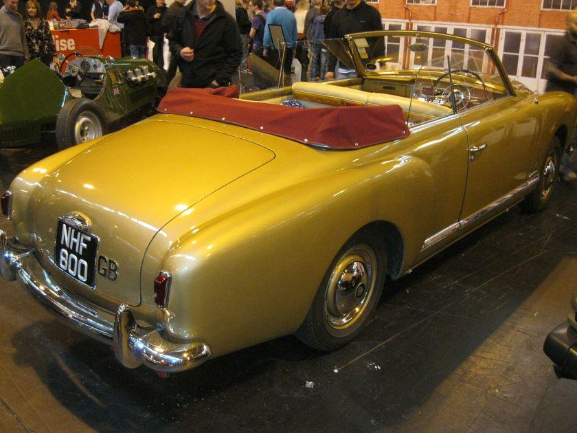 1953 Rover P4 Pininfarina Convertible (11031693646)