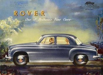 1954 rover 75 ad