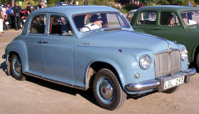 1954 Rover 90 4-Door Sedan
