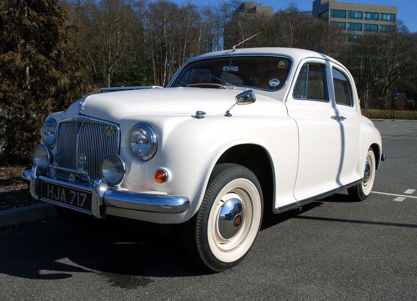 1955 Rover 60 (DVLA)