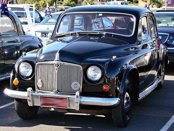 1955 Rover 90