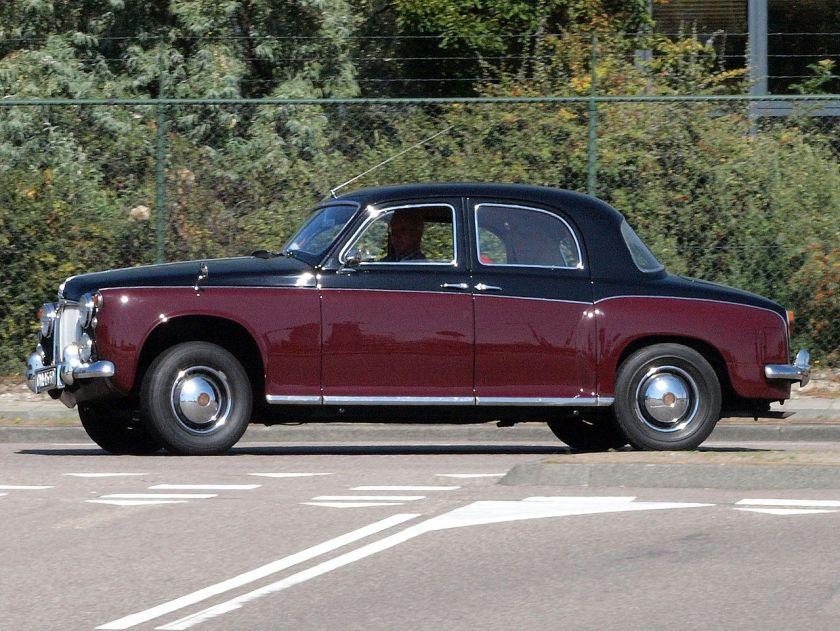 1955 Rover P4 DM-45-59 pic6
