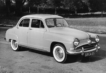 1955 simca aronde a