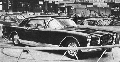 1956 facel excellence paris