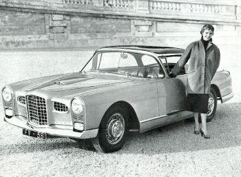 1956 facel fv-56 coupe