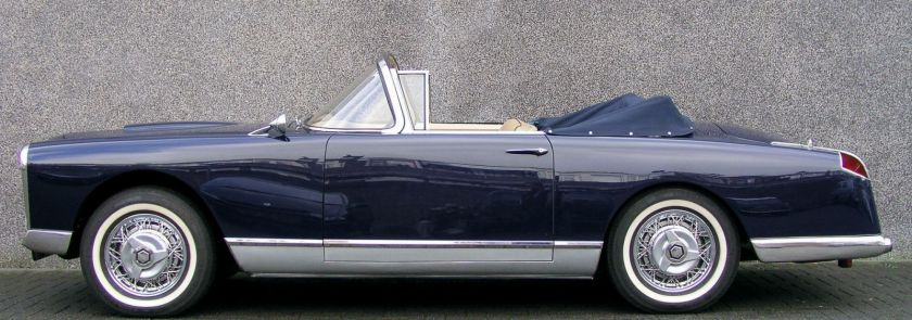 1956 facel vega fvb2 convertible
