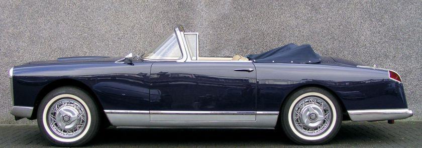 1956 facel vega fvb2 convertible
