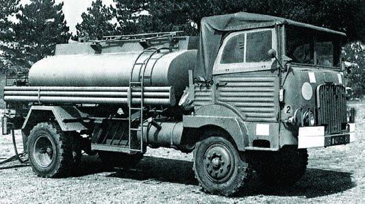 1956 SIMCA F594WMС, 4x4