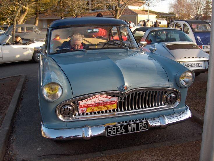 1956 Simca Vedette Regence