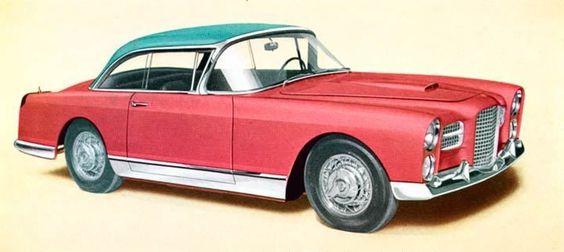 1957 Facel Vega FVS Coupe Factory Photo