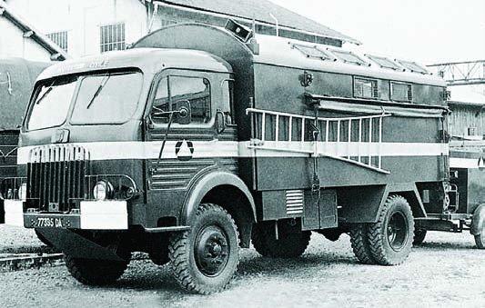 1957 SIMCA F594WMC with М-59 repair shop body, 4x4