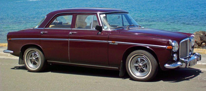 1958-73 Rover P5 3.5 litre Saloon NZ