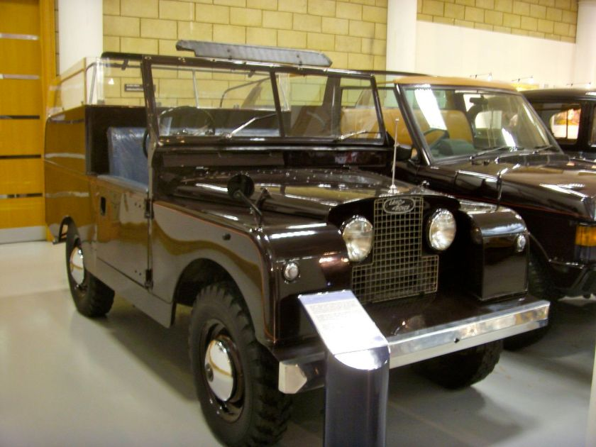 1958 Land Rover Series II 88