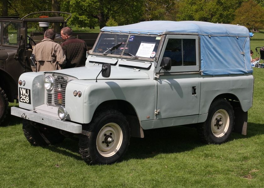 1958 Land Rover swb Series 2