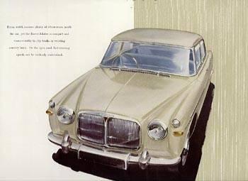 1958 rover 3.0 P5 mk1
