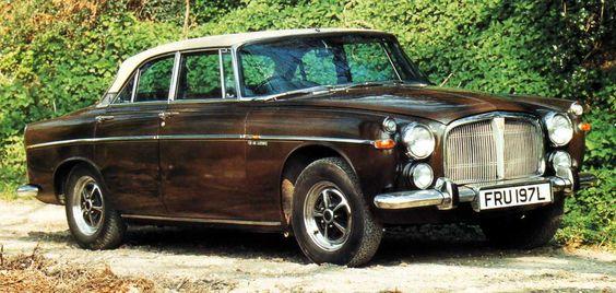 1958 Rover P5