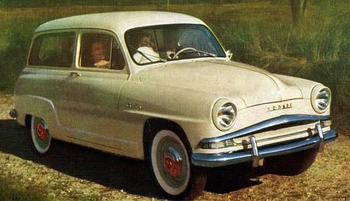 1958 Simca aronde chatelaine