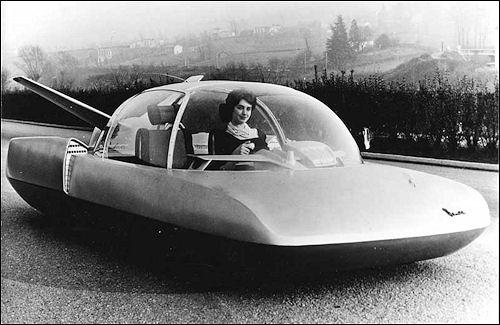 1958 Simca Fulgur – concept car