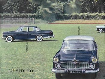 1958 simca vedette a