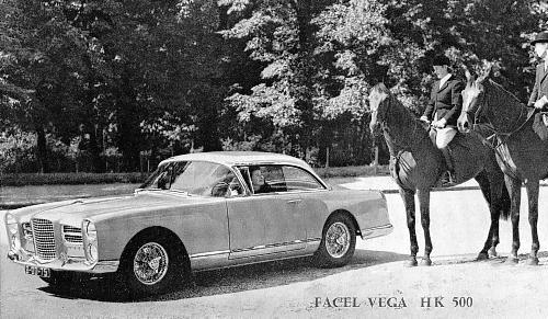 1959 facel hk 500