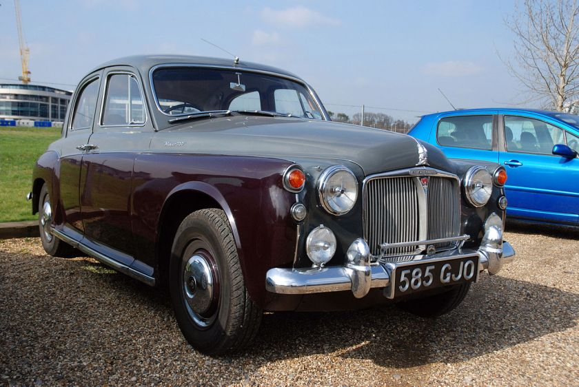 1959 Rover P4 100 DVLA first registered 11 November 1959, 2625cc