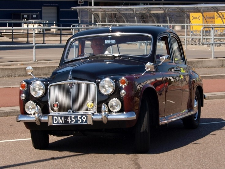 1959 Rover P4 6 cylinder