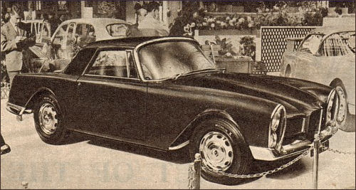 1960 facel vega facellia paris