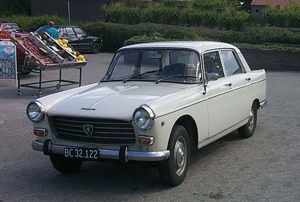 1960 Peugeot 404 vitfr