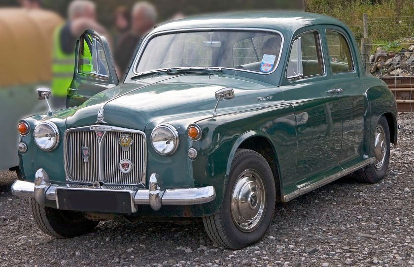 1960 Rover 1100 100 (P4). Launched after the 3-litre P5, the Rover 100 benefitted from receiving a 104bhp 2625cc version of that engine. 16,251 were sold