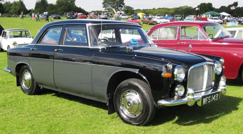 1960 Rover 3-litre aka Rover P5 2995cc