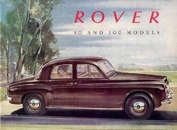 1960 rover 80 p4-80