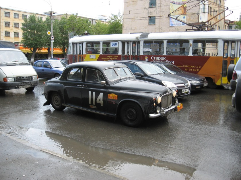 1960 Rover P4 Beijing-Paris Car 03