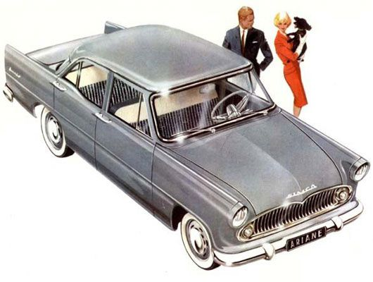 1960 simca ariane