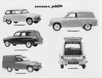 1960 simca aronde p60d commercial vehicles
