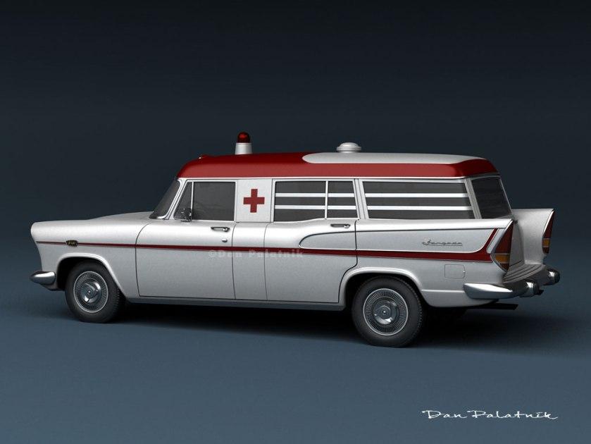 1960 Simca Jangada Ambulância e Funerário