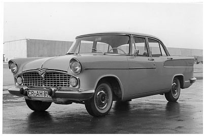 1960 Simca Vedette beaulieu