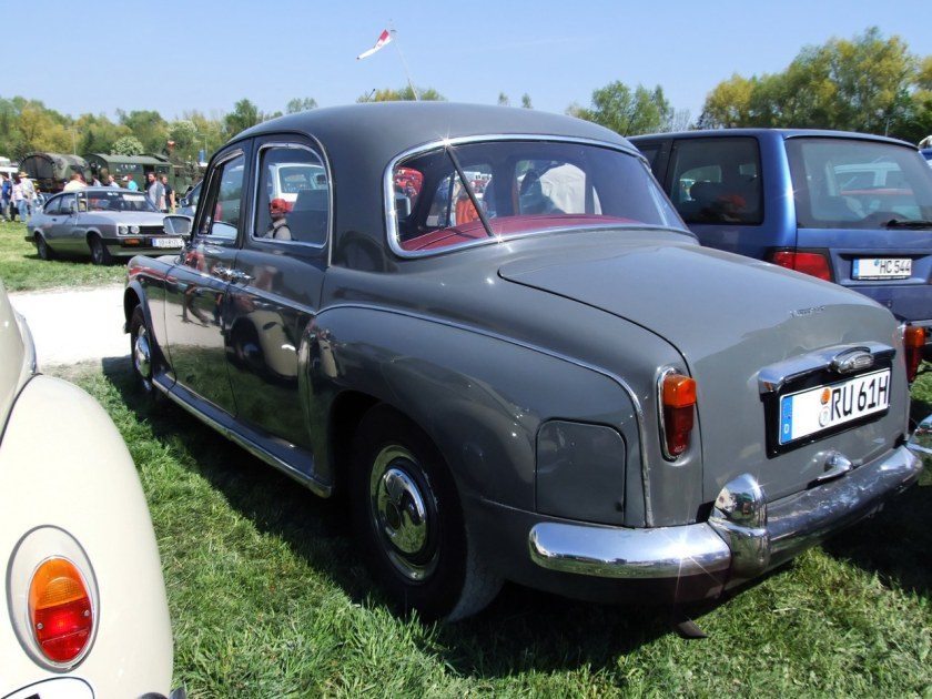 1961 Rover P4-100 6 Zylinder 105 PS