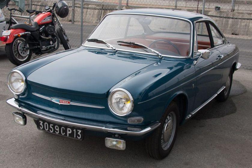 1961 Simca 1000 Bertone