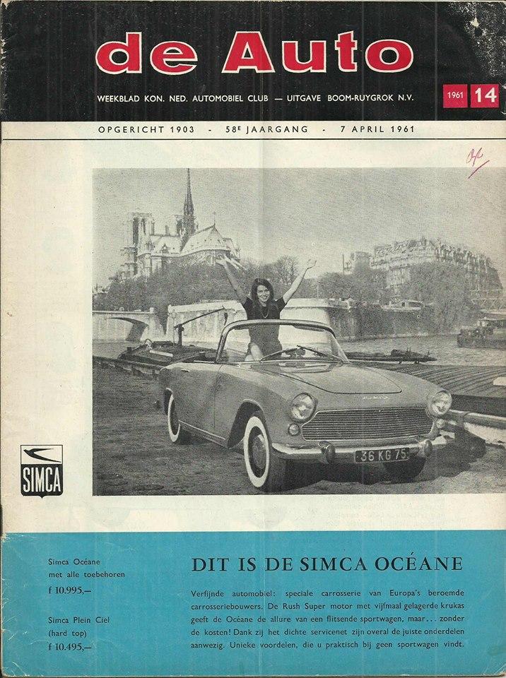 1961 Simca Océane