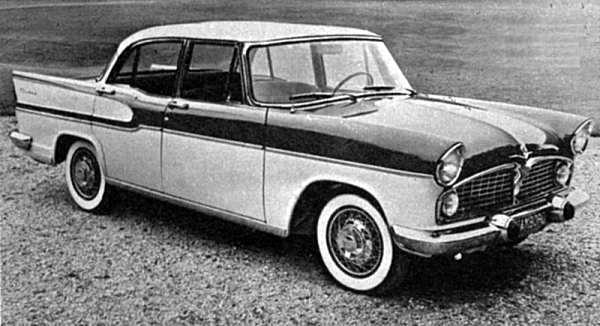 1961 Simca Vedette Chambord saloon