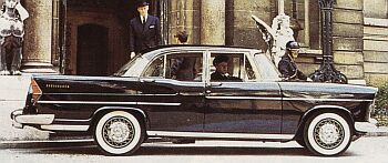 1961 Simca Vedette Presidence