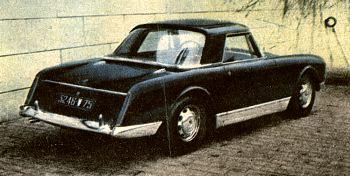 1962 facel vega facellia tyl