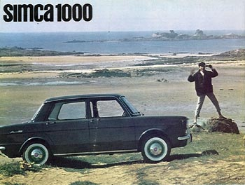 1962 simca 1000 a