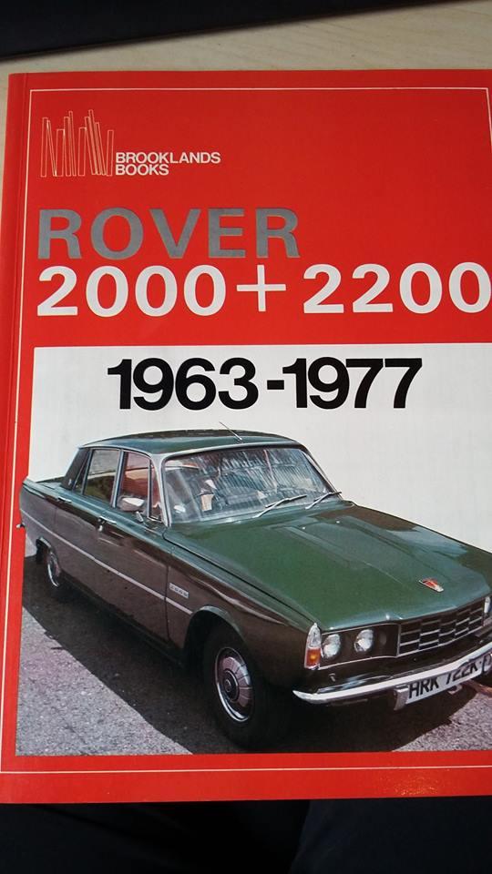 1963-77 Rover P6 2000-2200