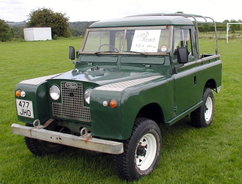 1963 Land Rover Series IIA pickup-type