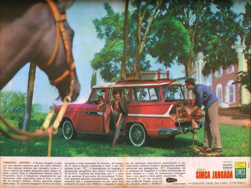 1963 Propaganda-Simca-Jangada