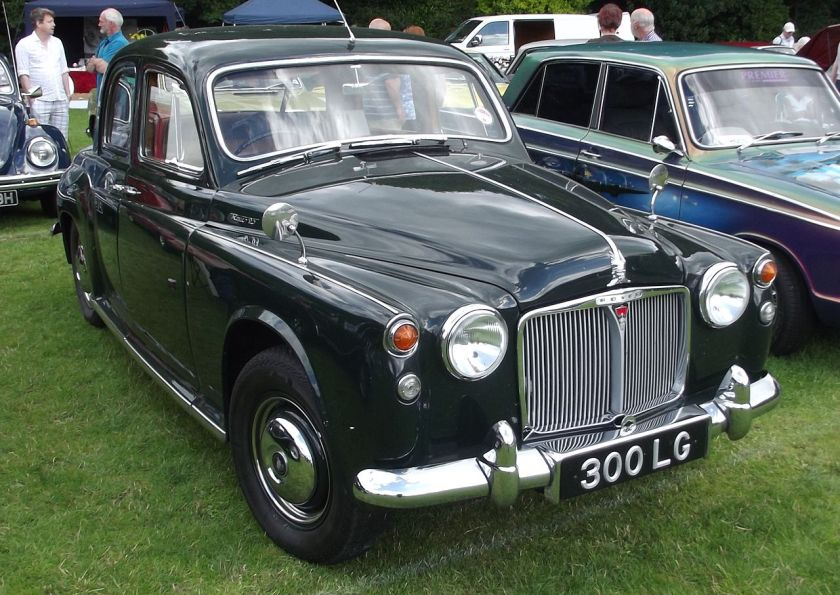 1963 Rover 95 saloon (DVLA) first registered 8 April 1963, 2625 cc