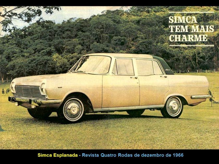 1963 Simca Jangada 3 Andorinhas Capa da Revista Quatro Rodas de setembro de 1963